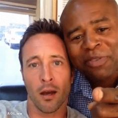 It had to be done... #AlexOLoughlin #ChiMcBride in motion