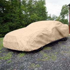 """Budge Rain Barrier Car Cover Fits Sedans up to 16'8"""""""" Long