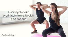 7 účinných cviků proti faldíkům na bocích a na zádech   ProKondici.cz Body Fitness, Fitness Tips, Health Fitness, Fitness Routines, Yoga Anatomy, Take Care Of Your Body, Fit Motivation, Butt Workout, Weight Training