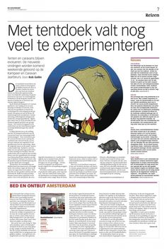 Newspaper De Volkskrant, October 2011