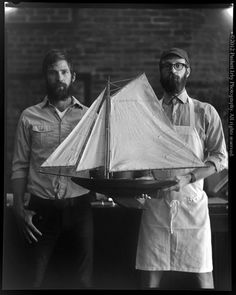 Michael and Rick Mast, Mast Brothers - Chocolatiers Color Photography, Portrait Photography, Fantasy Photography, Mast Brothers Chocolate, Mast Chocolate, Chocolate Factory, Men Street, Bearded Men, Beautiful Men