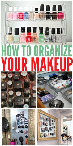 15 Clever Ways to Organize Your Makeup - One Crazy House