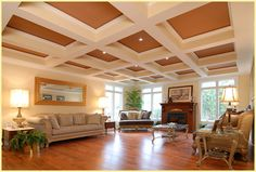 We make it easy for you to add a coffered ceiling to your home! Get started: http://www.tiltoncofferedceilings.com/