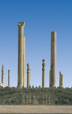 Palace Of Darius, Persepolis, Iran Ancient Ruins, Ancient History, Art History, Persian Architecture, Ancient Architecture, Ancient Mesopotamia, Ancient Civilizations, Naher Osten, Temples