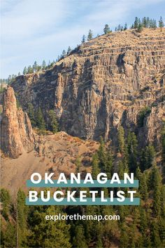 Explore waterfalls, panoramic hikes, family-friendly outdoor adventures, and more with our ultimate outdoor Okanagan bucket list! Travel Tours, Rv Travel, Beach Travel, Outdoor Travel, Budget Travel, Oh The Places You'll Go, Cool Places To Visit, Canadian Travel, British Columbia