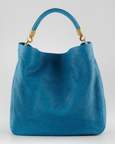 Roady Large Hobo, Azur by Yves Saint Laurent at Neiman Marcus.