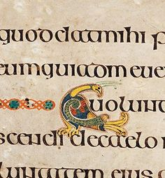 Book of Kells: The varied symbolism of the peacock