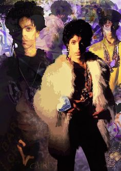 Image result for prince on tour 1987