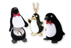 8/27/2012 Visit the Zoo Collection  $4.99  + FREE SHIPPING Genuine European Crystals Penguin Pendant in 18K Gold Finish with Hinged Velour Penguin Gift Box