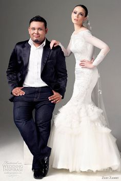 zery zamry malaysian bridal fashion designer...love dress