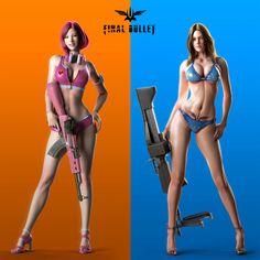 Biki Girls by BIG FISH | Adult | 3D | CGSociety