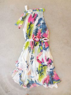 Floral Charming Party Dress