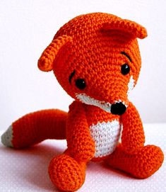 Amigurumi Crochet Fox Pattern - Lisa the Fox - Softie - Plush - Crochet Knitting Crochet Fox, Love Crochet, Beautiful Crochet, Amigurumi Tutorial, Amigurumi Patterns, Crochet Patterns, Fox Pattern, Cross Stitch Animals, Cute Winter Outfits