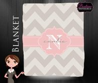 Blanket, Monogrammed & Personalized, Monogrammed Blanket, Personalized Blanket, Custom Wedding Gift
