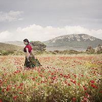 Maurizio Scanu :: La Sardegna é Donna :: Scatti fotografici di M. S. interpretati dai dipinti di Mario Biancacci :: Nuoro 2015 :: Caffè 9 3/4 :: Stampa su Breathing Color Vibrance Baryta