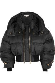 Stella McCartneyMegane cropped quilted shell jacket
