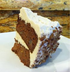 Carla Mary's Paleo Blog: Paleo Carrot Cake with Cream Frosting