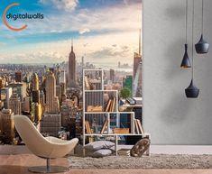 ¡Síguenos en Instagram! @digitalwalls_wallpapers #NewYork #NuevaYork #Interiorism #InteriorDesign #Decoration #Home