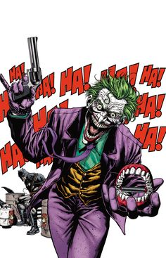 Batman Vol 2 23.1 The Joker Textless