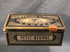 lefevre utile boite ancienne en tole litho lu petit beurre collections pinterest. Black Bedroom Furniture Sets. Home Design Ideas