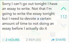 Procrastination and avoiding social contact