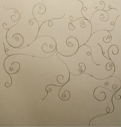 Quilting Pattern---swirling vine---love this!