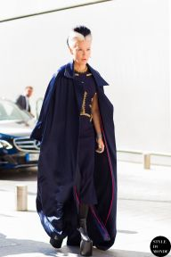 STYLE DU MONDE / Haute Couture Fall 2015 Street Style: Daphne Guinness  // #Fashion, #FashionBlog, #FashionBlogger, #Ootd, #OutfitOfTheDay, #StreetStyle, #Style