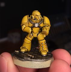 Mengel Miniatures: TUTORIAL: Heresy-Era Imperial Fists