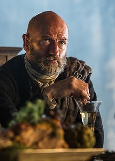 That's why it's called acting. Graham McTavish as Dougal in Outlander on Starz | via Italian Outlander's Tumblr