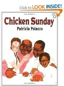 Chicken Sunday by Patricia Polacco  (DRA 2.1, K-2 interstest) is about a Russian American Girl who is friends with an African American neighbor.  In the story they exchange their cultural traditions (like religion, family, food, etc.)  I think this is a great book to celebrate community and friendship.  I would use this book in a k-2 setting to teach the importance of friendship aand the value of sharing our diversity with each other.