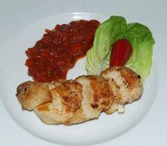 Aromatyczna pierś z kurczaka z pikantnym sosem meksykańskim