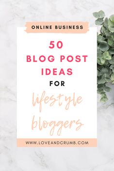 50 BLOG POST IDEAS FOR LIFESTYLE BLOGGERS | Struggling to come up with content for your blog? Here are 50 lifestyle blog post ideas to help you fight that writer's block and fill your content calendar. #blogging #blogpostideas #blogtopics #blogideas #blogpostideaslifestyle #lifestyleblog #writersblock #lifestyleblogpost Blog Writing Tips, Blog Topics, Blogging For Beginners, Lifestyle Blog, Healthy Lifestyle, Writer's Block, How To Start A Blog, About Me Blog, Fill