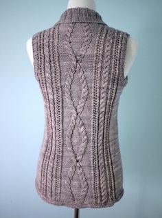 Ravelry: Gamine Vest pattern by Tori Gurbisz