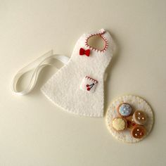 Baking Set pdf Pattern for Best Friends Dolls by Gingermelon, $4.00