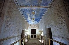 Ramses IV tomb, Valley of the Kings, Luxor, Egypt, North Africa, Africa