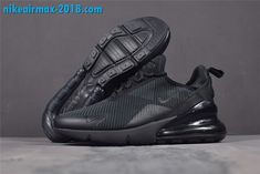 new style cbdbc e59e2 Women s Nike Air Max 270 Triple Black Flyknit AH6789-006 nice  nike   nikeairmax270  gs girls fashion  airmax  sneakers  sneakerhead   womensfashion ...