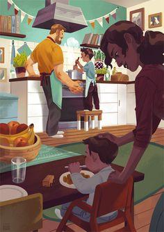 Wonderful Illustrations by Maike Plenzke - The Fox Is Black