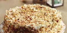 Τούρτα αμυγδάλου !!! Krispie Treats, Rice Krispies, Desserts, Food, Tailgate Desserts, Deserts, Essen, Postres, Meals