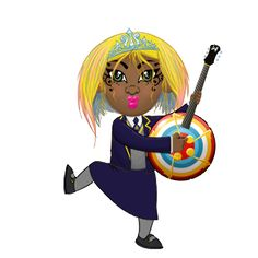 Times Tables Rock Stars is a carefully sequenced programme ot times table multiplication facts. Table Rock, Times Tables, Rock Stars, Avatar, Princess Zelda, Blue, Fictional Characters, Art, Multiplication Tables