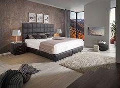 Mit Elegant Modernem Design Sorgt Boxspringbett Superior Für Eine Erholsame  Nachtruhe Und Stellt Mit Dem