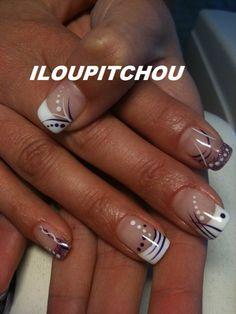 Image - JACQUELINE - Déco d'ongle en gel nail art - Skyrock.com