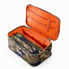 Camo Luxe Cosmetic Case | Mark and Graham