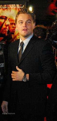 Leonardo DiCaprio at premier of Blood Diamond