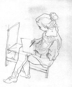 Sketches by István Lugosi, via Behance