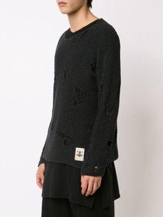 Vivienne Westwood Anglomania  'Broken' sweater