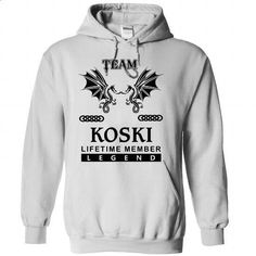 Team KOSKI 2015_Rim - #sweatshirt street #purple sweater. ORDER NOW => https://www.sunfrog.com/Names/Team-KOSKI-2015_Rim-rhserhyvvg-White-35090032-Hoodie.html?68278
