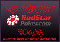Review of the No Deposit Red Star Poker Bonus Code. Start playing on this Revolution Gaming Network Site without investing own money. You can receive up to 50 dollar free poker money with the Red Star No Deposit Poker Bonus.  Re-Pin to play free poker against your friends!