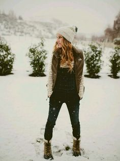 probably more winter than fall outfit!!  #hat  #fashion -  boots  #winter