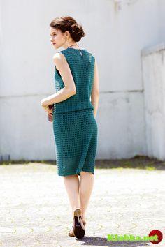 Летнее ажурное платье