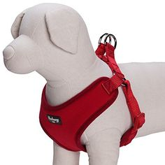 Blueberry Pet 4 Colors Soft Comfortable Better Basic Padded Dog Harness Vest Chest Girth 16 185 Rouge Red XSS Adjustable Harnesses for Small Dogs * More info could be found at the image url. (This is an affiliate link) Pet Steps, Dog Diapers, Dog Agility, Dog Hoodie, Outdoor Dog, Service Dogs, Dog Accessories, Dog Leash, Cute Kittens
